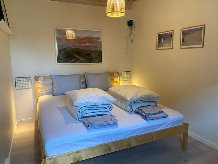 HAW-værelset 🌊 Stort dobbeltværelse i anneks