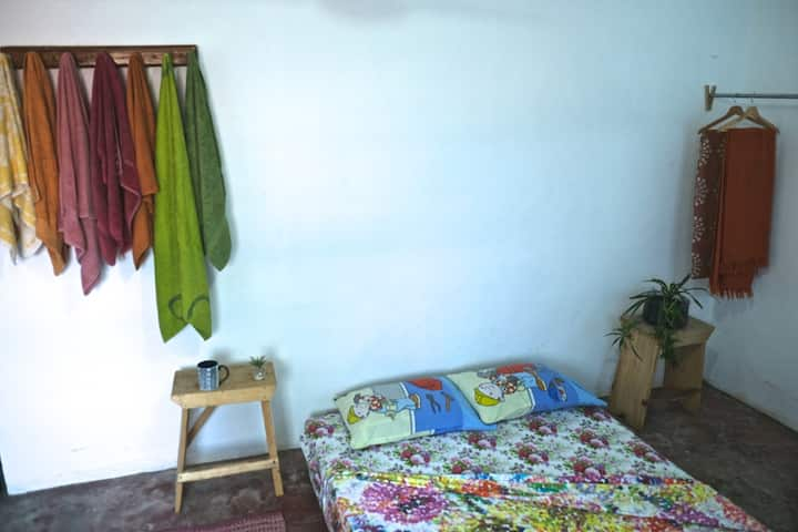 Welcoming Comfort in Traditional Accra Village