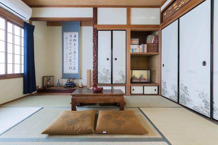 Traditional house@center of Osaka梅田 - Osaka-shi - Villa