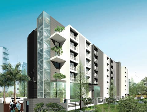 Transit Cochin 1+1 BHK (for 4 adults +4 children)