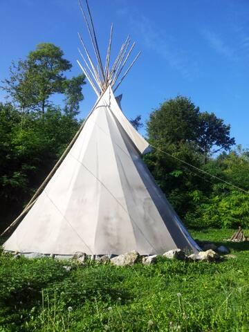 Indianer TIPI