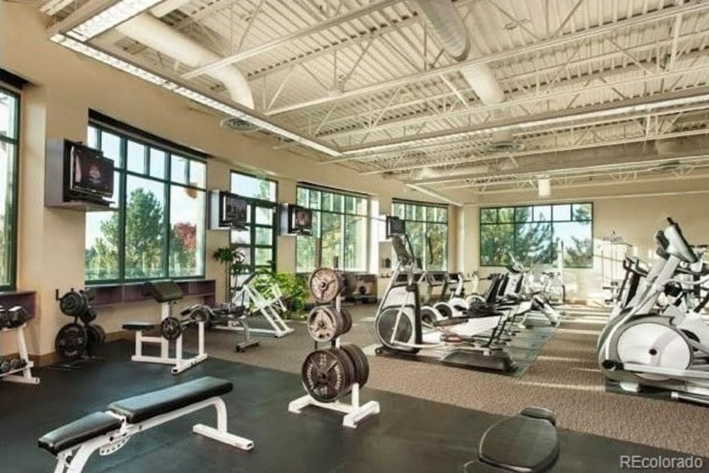 State of the art workout room