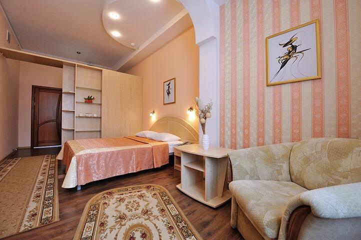Комната в историческом районе с видом на парк