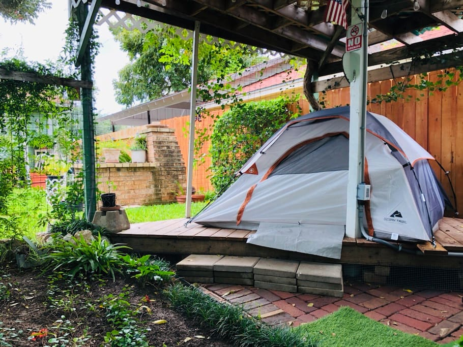 Tentiest Tent ⛺ Downtown Glamping Tents For Rent In