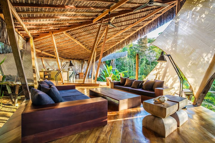 KA BRU Forest Villa - Luxe Jungle Loft, Itacaré
