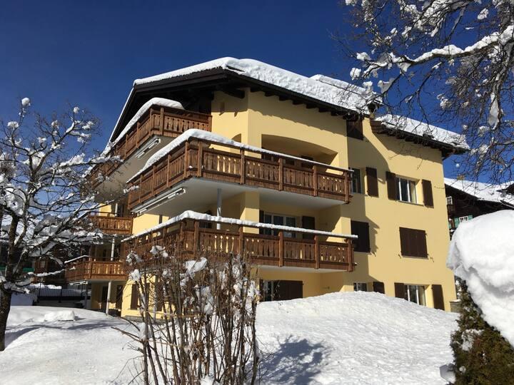 3 ½ Zimmerwohnung, Haus Talstrasse 3, Klosters