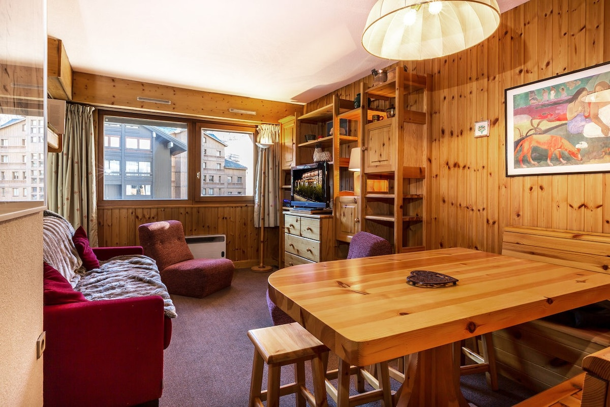 A3558   Comfortable Apartment With A South Facing Veranda Right In The  Heart Of The Resort   Apartments For Rent In VAL Du0027ISERE, France