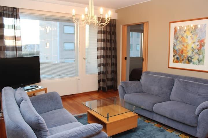 91m2 four bedroom apt in Kontula