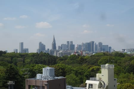 Akasaka Lux Studio w/Stunning View - Apartment