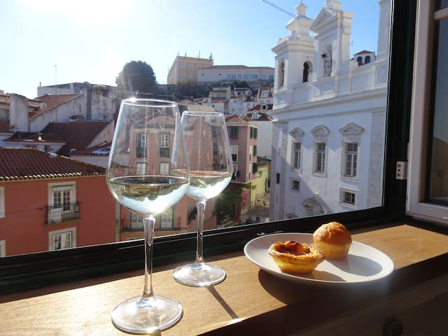 Alfama with awesome view (+ wifi) - Lisboa - Apartament
