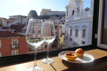 Alfama with awesome view (+ wifi) - Lisboa - 公寓