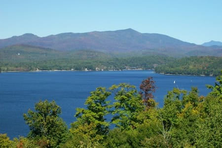 The Schroon Lake Retreat - Adirondack - Rumah