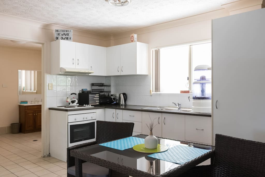 Open plan Kitchen with all the needs of your home kitchen .