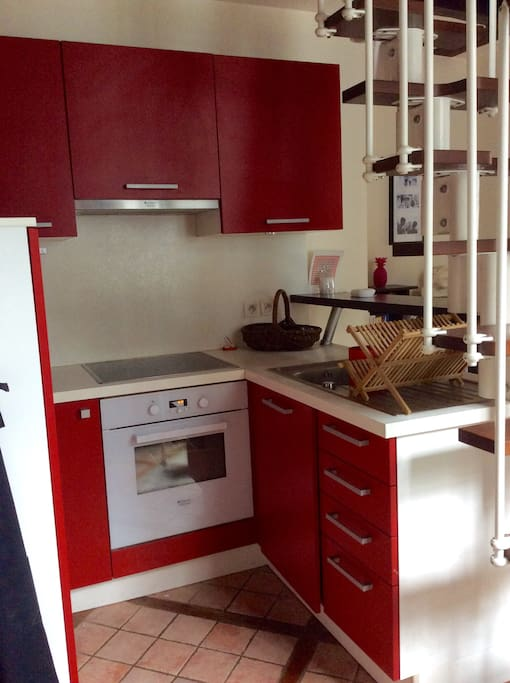 espace cuisine/kitchen