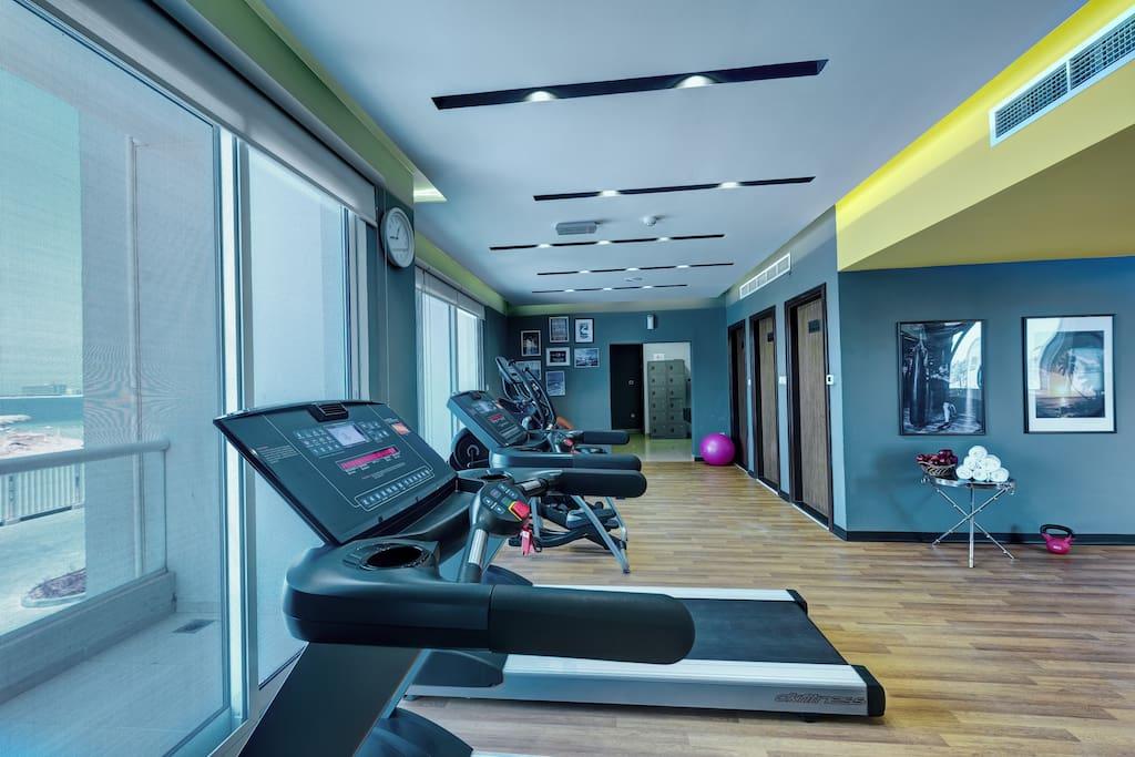 Modern & Upscale gym