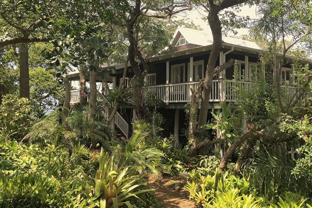 The Villa (located within short walk to Leisure Bay beach)