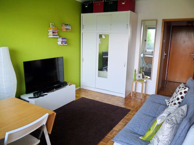 Cozy river side Apt. with free parking space - Ljubljana - Daire