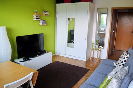 Cozy river side Apt. with free parking space - Ljubljana - Leilighet