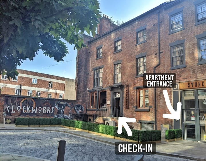 One Bed Apartment★ Sleeps 3 ★ Liverpool L1