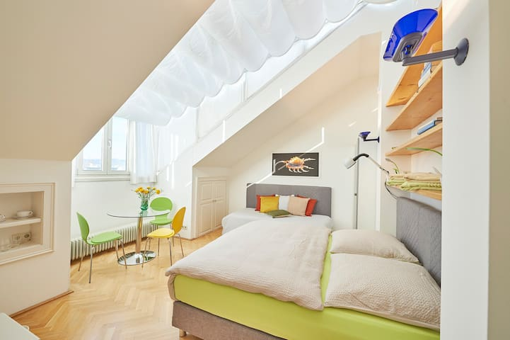 Luxury Flat in  of Vienna - Room # 2 aircondition