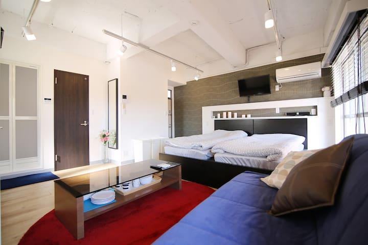 位于原宿的时尚舒适公寓 i4(New)