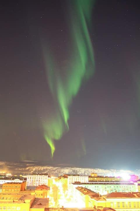 Polar lights appartment