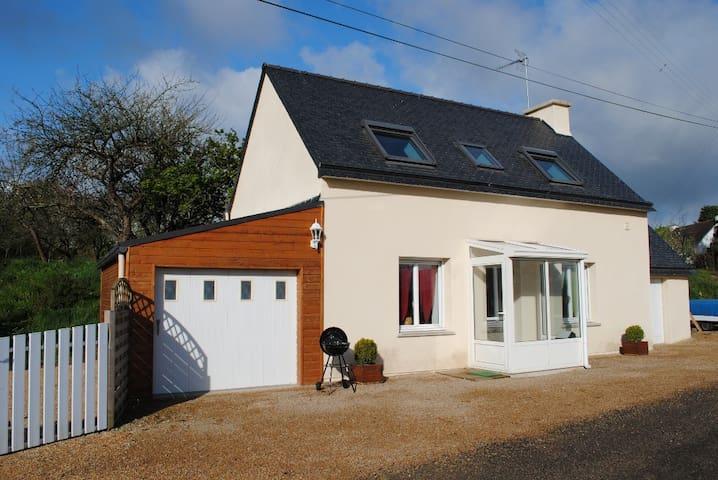 maison reconstruite en 2008,calme - Plouégat-Moysan - Huis