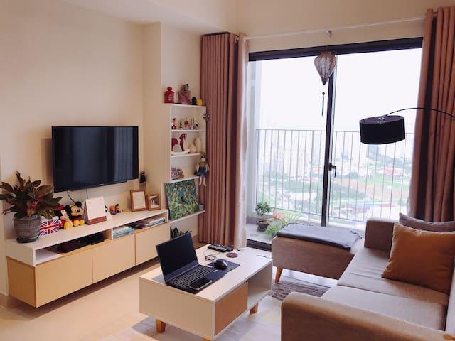 Masteri/2Bedrooms Apartment & Convenient Location