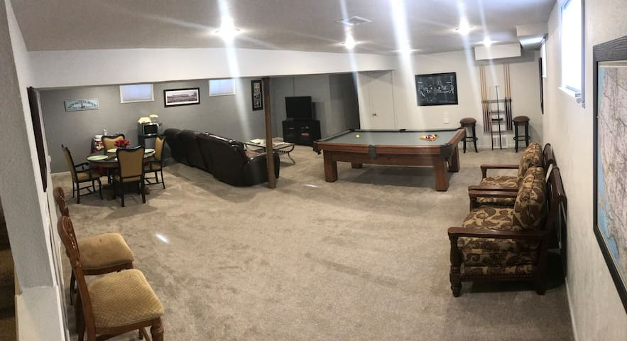 Chuck and Nancy's Olde Town Arvada Basement Suite