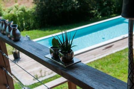 Villa climatisée avec piscine design et jacuzzi - Tercis-les-Bains - 別荘