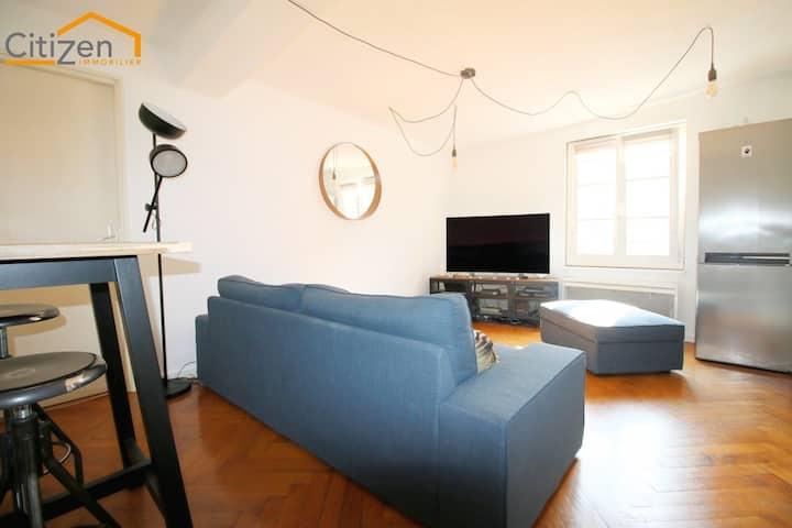 Appartement très agréable, au calme dans le centre