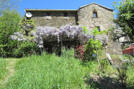 The Secret of the Rives, Typical house, Cévennes - Saint-Germain-de-Calberte - Haus