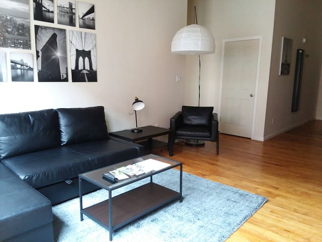 Comfy loft style apartment not far from LU!