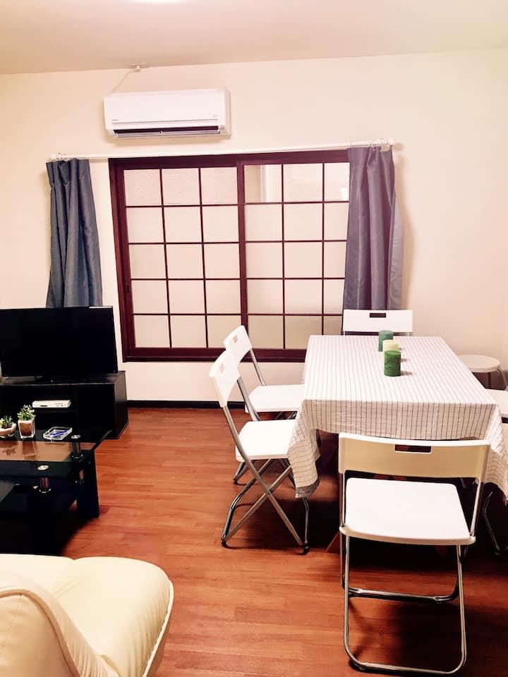 三崎港まで70メートル。プライベートバッチリ綺麗な一軒家。