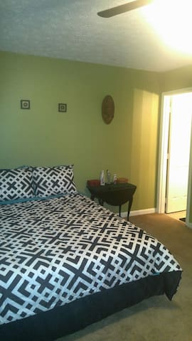 Quiet room 3 mins from UGA campus. - Athens - Apartment