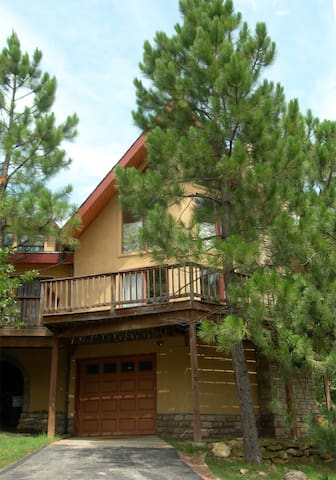 A-frame dwelling lake view house. - Sand Springs - Bed & Breakfast
