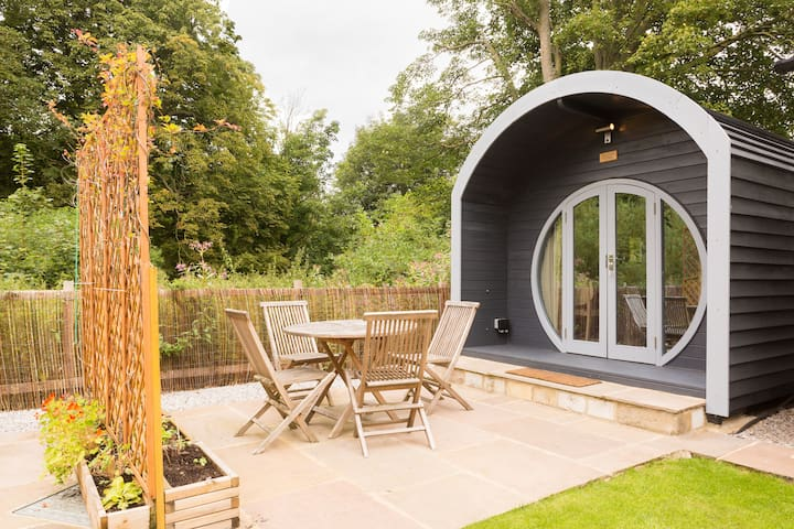 SleepySquirrel Pod, Luxury heated Ensuite& kitchen