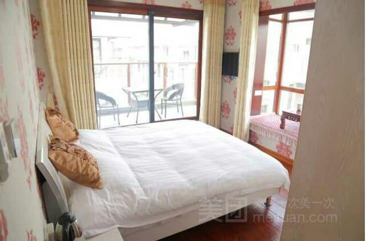 位于桃花岛的永思大床房 - Huangshan - Villa