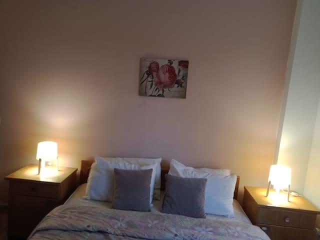 Spacious bedrooms...