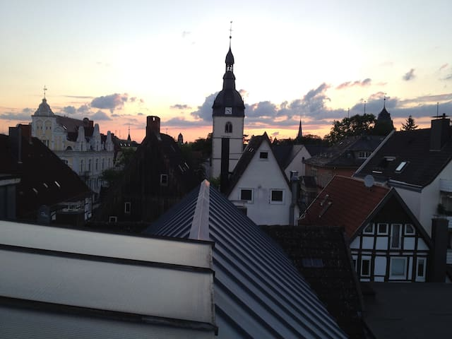 Agreeable overnight stay in liven community - Detmold - Квартира