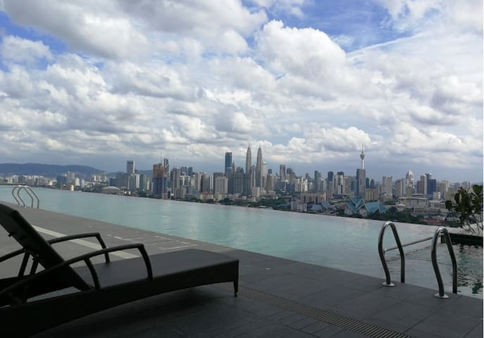 INFINITY POOL in the SKY private (Website hidden by Airbnb) unit