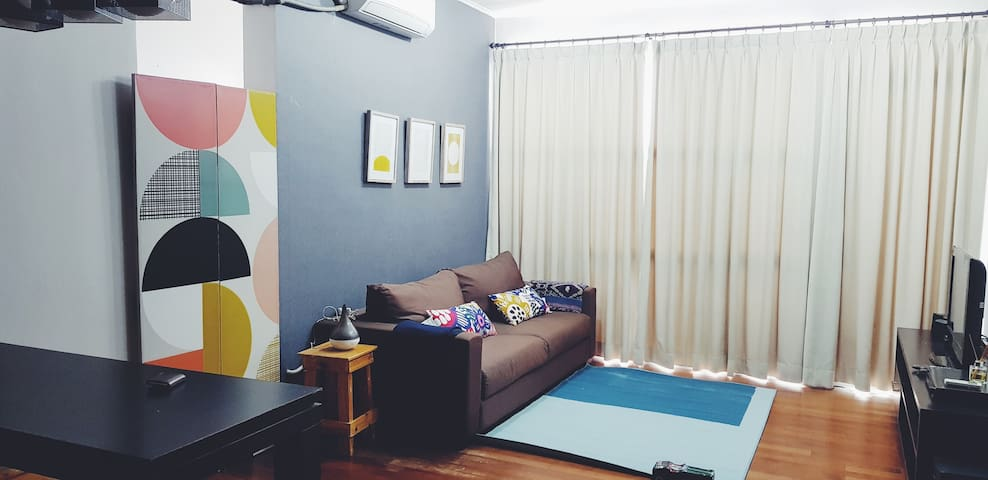 2BR Affordable Chic Apartment in Heart of Jakarta
