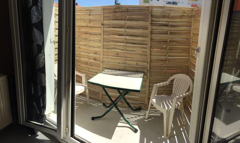 Agréable appartement T2 avec balcon!