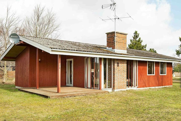 Fabulous Holiday Home in Ørsted with Sauna