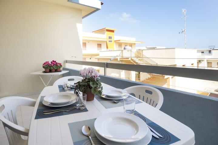 Casa Girasole a 20 metri dalla spiaggia