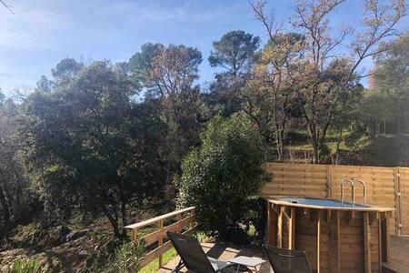 Gîte Cocooning avec balnéo et piscine privatives