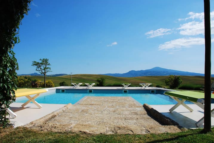 Luxury Privacy in the Heart of Tuscany - Pienza - Villa