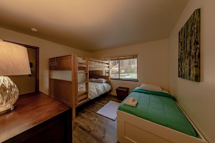 Three Twin Bedroom