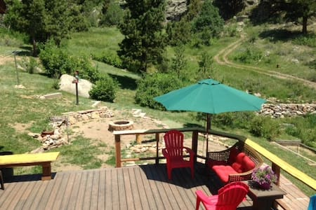 Peaceful Convenient Mountain Studio - Estes Park - 아파트