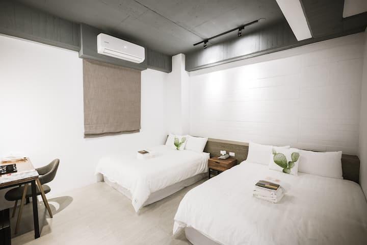 門廷若室-標準四人房303